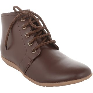 Exotique Womens Brown Casual Boot (EL0051BR)