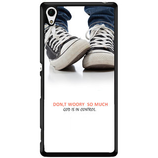 Ayaashii Don't Worry So Much Back Case Cover for Sony Xperia Z4::Sony Xperia Z4 E6553