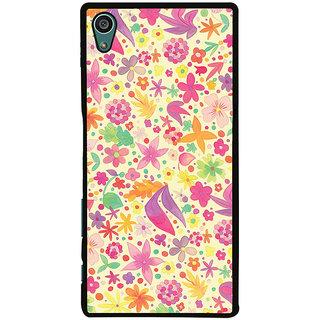 Ayaashii Flowers Design Back Case Cover for Sony Xperia Z5::Sony Xperia Z5 Dual::Sony Xperia Z5 Premium