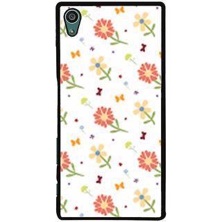 Ayaashii Flower Pattern Back Case Cover for Sony Xperia Z5::Sony Xperia Z5 Dual::Sony Xperia Z5 Premium
