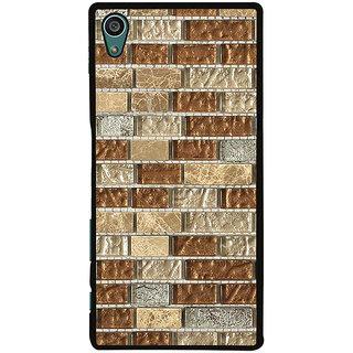 Ayaashii Marble Bricks Pattern Back Case Cover for Sony Xperia Z5::Sony Xperia Z5 Dual::Sony Xperia Z5 Premium