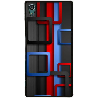 Ayaashii Square Abstract Back Case Cover for Sony Xperia Z5::Sony Xperia Z5 Dual::Sony Xperia Z5 Premium