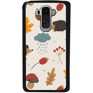 Ayaashii Raining Cloud Pattern Back Case Cover for LG G4 Stylus