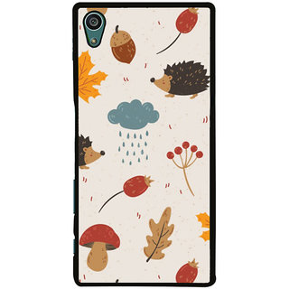 Ayaashii Raining Cloud Pattern Back Case Cover for Sony Xperia Z5::Sony Xperia Z5 Dual::Sony Xperia Z5 Premium