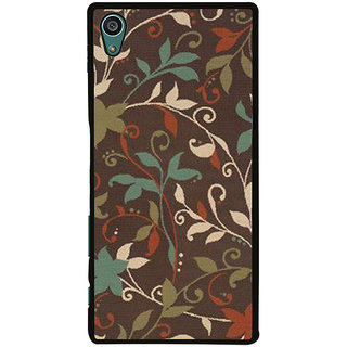 Ayaashii Floral Pattern Back Case Cover for Sony Xperia Z5::Sony Xperia Z5 Dual::Sony Xperia Z5 Premium