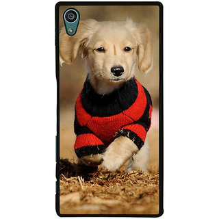 Ayaashii Cute Pet Dog Back Case Cover for Sony Xperia Z5::Sony Xperia Z5 Dual::Sony Xperia Z5 Premium