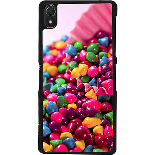 Ayaashii Colorful Stones Back Case Cover for Sony Xperia Z2::Sony Xperia Z2 L50W D6502 D6503