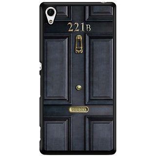 Ayaashii 221B Door Back Case Cover for Sony Xperia Z4 Mini::Sony Xperia Z4 Compact
