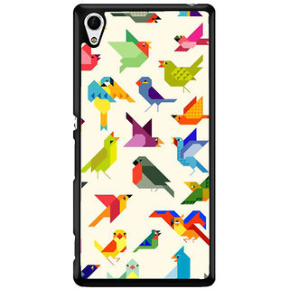 Ayaashii Birds Pattern Back Case Cover for Sony Xperia Z4 Mini::Sony Xperia Z4 Compact