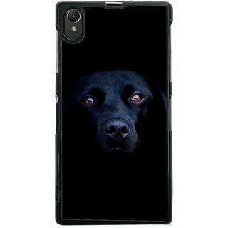 Ayaashii Innocent Dog Face Back Case Cover for Sony Xperia Z1::Sony Xperia Z1 L39h