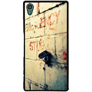 Ayaashii Emergency Stop Back Case Cover for Sony Xperia Z5::Sony Xperia Z5 Dual::Sony Xperia Z5 Premium