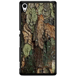 Ayaashii Colorful Tree Bark Back Case Cover for Sony Xperia Z4 Mini::Sony Xperia Z4 Compact