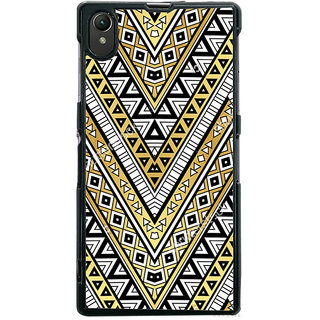 Ayaashii Tribal Pattern Back Case Cover for Sony Xperia Z1::Sony Xperia Z1 L39h