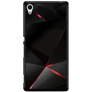 Ayaashii Animated Black Pattern Back Case Cover for Sony Xperia Z4 Mini::Sony Xperia Z4 Compact