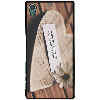 Ayaashii A Life Lived In Love Back Case Cover for Sony Xperia Z5::Sony Xperia Z5 Dual::Sony Xperia Z5 Premium