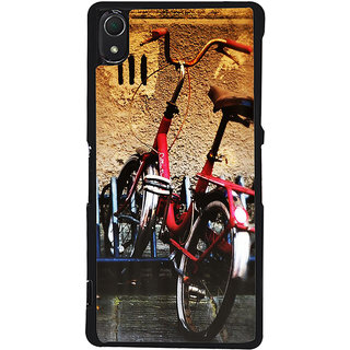Ayaashii Baby Cycle Back Case Cover for Sony Xperia Z2::Sony Xperia Z2 L50W D6502 D6503