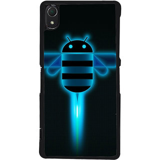 Ayaashii Flying Android Back Case Cover for Sony Xperia Z3::Sony Xperia Z3 D6653 D6603