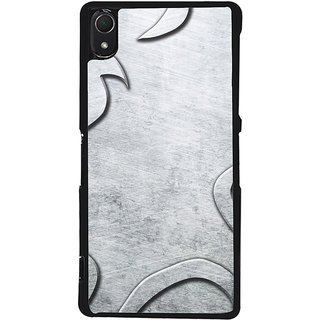 Ayaashii Greyish Design Back Case Cover for Sony Xperia Z3::Sony Xperia Z3 D6653 D6603