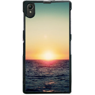 Ayaashii Sun Rise  Back Case Cover for Sony Xperia Z1::Sony Xperia Z1 L39h