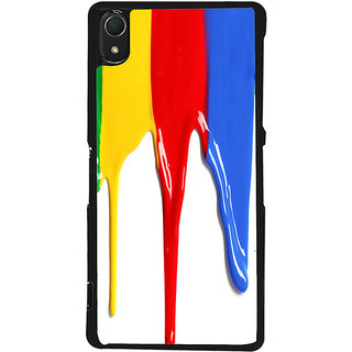 Ayaashii Colorful Paints Back Case Cover for Sony Xperia Z2::Sony Xperia Z2 L50W D6502 D6503