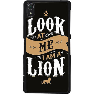 Ayaashii Look At Me Back Case Cover for Sony Xperia Z3::Sony Xperia Z3 D6653 D6603