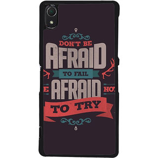 Ayaashii Don't Be Afraid Back Case Cover for Sony Xperia Z2::Sony Xperia Z2 L50W D6502 D6503