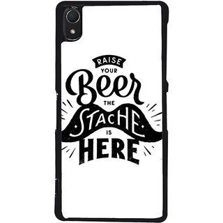 Ayaashii Raise Your Beer Back Case Cover for Sony Xperia Z2::Sony Xperia Z2 L50W D6502 D6503
