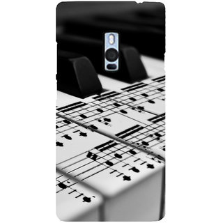 Ayaashii Musical Keyboard Back Case Cover for One Plus Two::One Plus 2::One+2