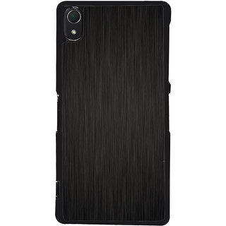 Ayaashii Brown Pattern Back Case Cover for Sony Xperia Z2::Sony Xperia Z2 L50W D6502 D6503