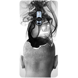 Ayaashii Ash IS Coming From His Head Back Case Cover for One Plus Two::One Plus 2::One+2