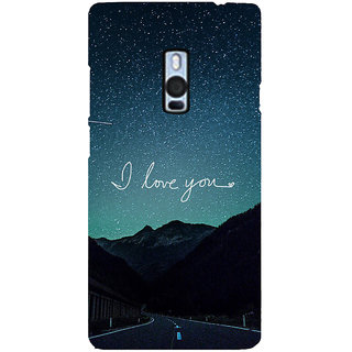 Ayaashii I Love You Back Case Cover for One Plus Two::One Plus 2::One+2