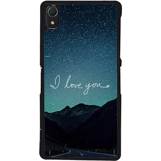 Ayaashii I Love You Back Case Cover for Sony Xperia Z2::Sony Xperia Z2 L50W D6502 D6503