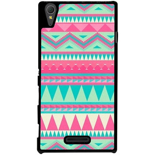 Ayaashii Tribal Pattern Back Case Cover for Sony Xperia T3