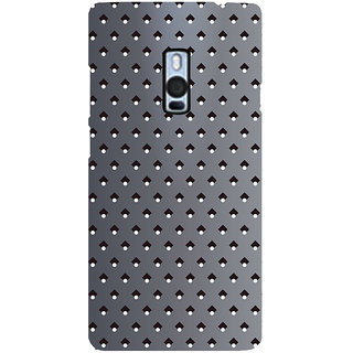 Ayaashii Diamond Pattern Back Case Cover for One Plus Two::One Plus 2::One+2