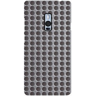 Ayaashii Round Buttons Pattern Back Case Cover for One Plus Two::One Plus 2::One+2