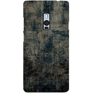 Ayaashii Faded Jeans Cloth Back Case Cover for One Plus Two::One Plus 2::One+2