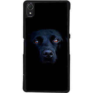 Ayaashii Innocent Dog Face Back Case Cover for Sony Xperia Z2::Sony Xperia Z2 L50W D6502 D6503