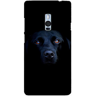 Ayaashii Innocent Dog Face Back Case Cover for One Plus Two::One Plus 2::One+2