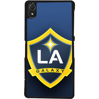 Ayaashii L A Galaxy Back Case Cover for Sony Xperia Z2::Sony Xperia Z2 L50W D6502 D6503