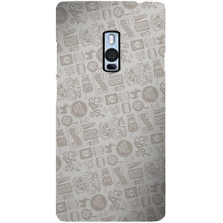 Ayaashii Quotes/Messages Pattern Back Case Cover for One Plus Two::One Plus 2::One+2