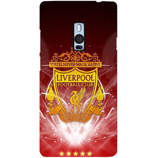 Ayaashii Liverpool Football Back Case Cover for One Plus Two::One Plus 2::One+2