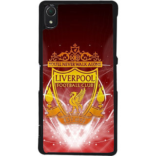 Ayaashii Liverpool Football Back Case Cover for Sony Xperia Z2::Sony Xperia Z2 L50W D6502 D6503