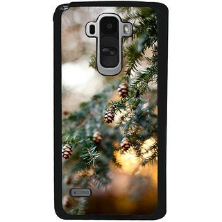 Ayaashii Pine Cone Tree Back Case Cover for LG G4 Stylus
