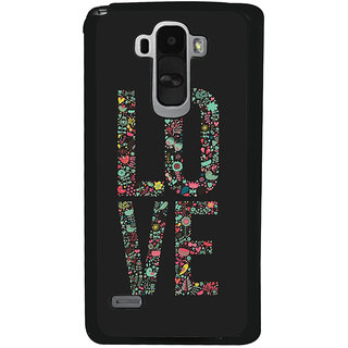 Ayaashii LO VE Back Case Cover for LG G4 Stylus