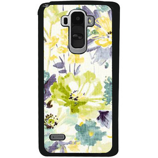 Ayaashii Floral Pattern Back Case Cover for LG G4 Stylus