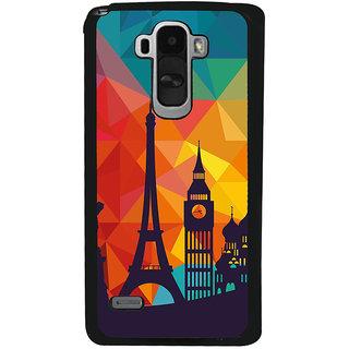 Ayaashii Colorful Background With Symbols Back Case Cover for LG G4 Stylus