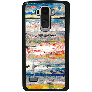Ayaashii Colorful Painting Back Case Cover for LG G4 Stylus