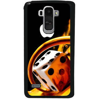 Ayaashii Dice With Logo Back Case Cover for LG G4 Stylus