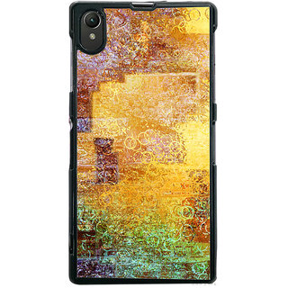 Ayaashii Shade Circle Pattern Back Case Cover for Sony Xperia Z1::Sony Xperia Z1 L39h