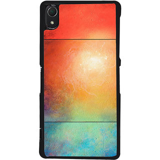 Ayaashii Colorful Sky Back Case Cover for Sony Xperia Z2::Sony Xperia Z2 L50W D6502 D6503